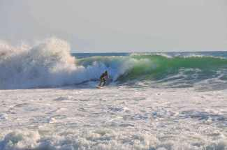 Surfer on Zicatella