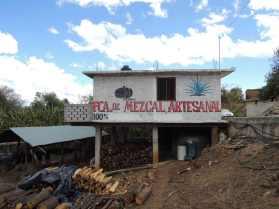 kleine Mezcal Fabrik