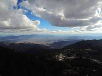 Dorf Benito Juarez in den Bergen von Oaxca