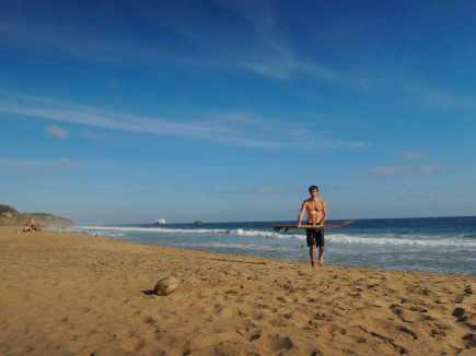Surfen am Playa San Agustinillo