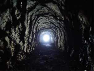 Grenztunnel auf 1.864m
