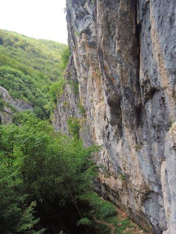 Kolasin Wand unten