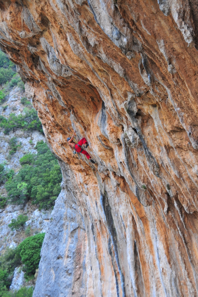 This is Sparta 7b+/ 7c
